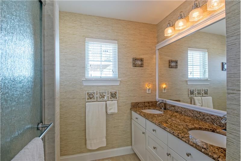 Double Vanity, Walk-in Shower