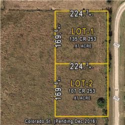 Lot 1  CR 253, Matagorda, TX
