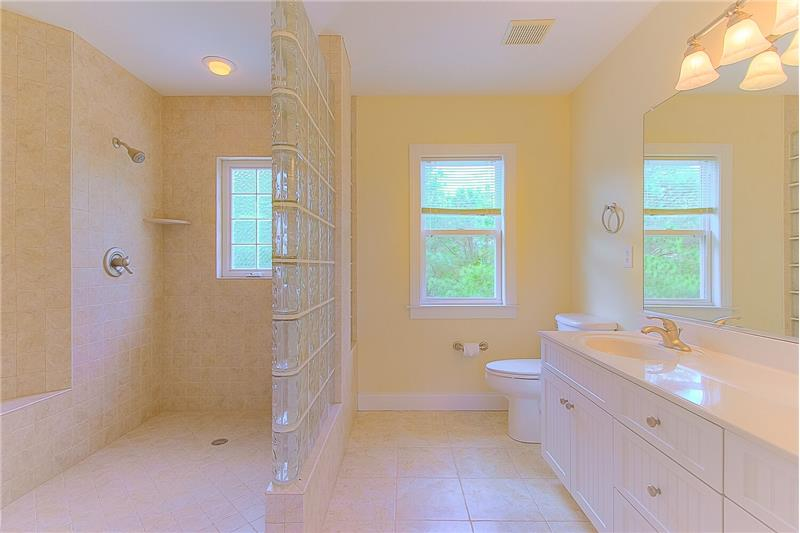 Master Wheelchair Accessible Bath