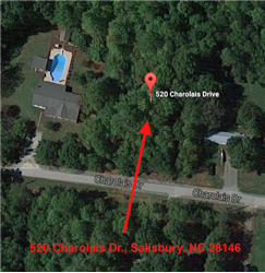 520  Charolais Dr., Salisbury, NC