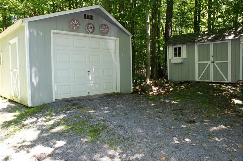 Garage and Storage Shed