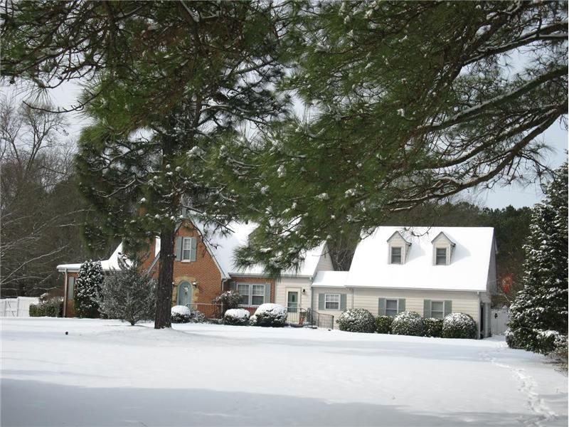 Scenic Fuquay Varina Home for Sale Winter