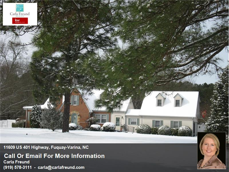 Scenic NC Home for Sale in lovely Fuquay-Varina minutes from Downtown Raleigh