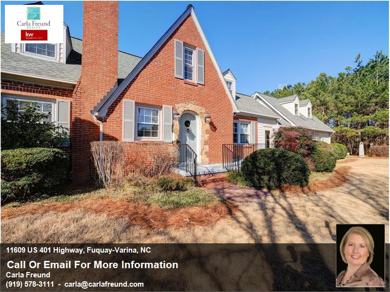 Original Keith Weather Home - A Beautiful Fuquay Varina Home for Sale on 7.17 Acres