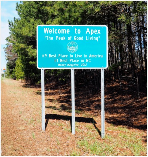 Homes for Sale in Apex NC - Americas Best Town to live in
