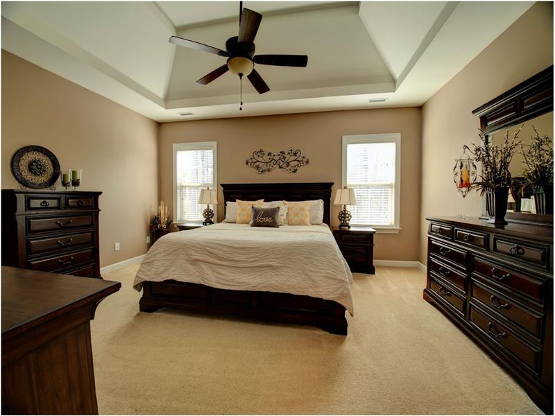 Lots of Space in Master Bedroom