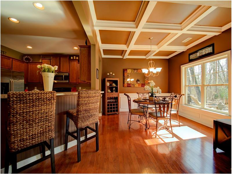 Gorgeous View and Open yet Cozy Floorplan