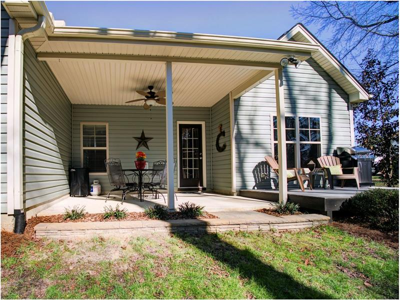 Covered Porch and Deck