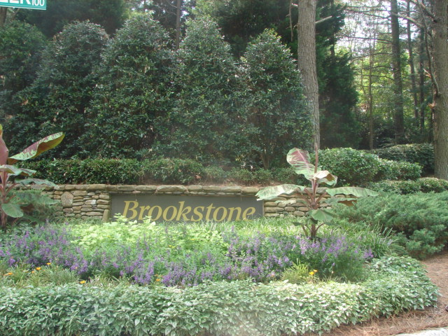 Brookstone Entrance - Brookstone Homes for Sale in Cary NC