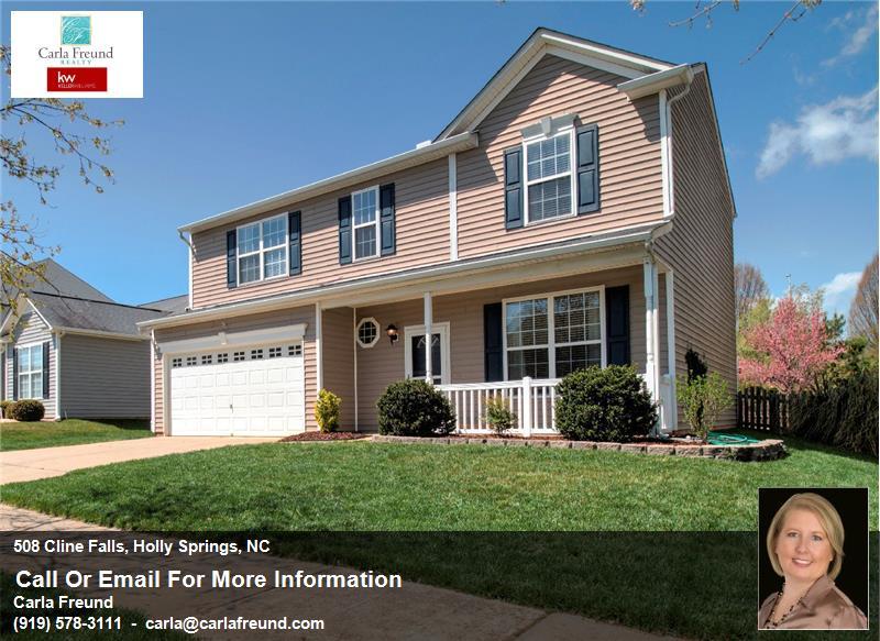 #AskRealtorCarla - Homes for Sale in Holly Springs, Apex & Raleigh