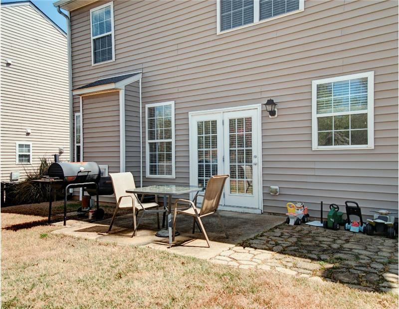 Back Patio - Homes for Sale in Holly Springs, Apex & Raleigh