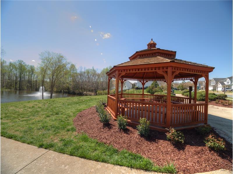 Neighborhood Gazebo - Homes for Sale in Holly Springs, Apex & Raleigh