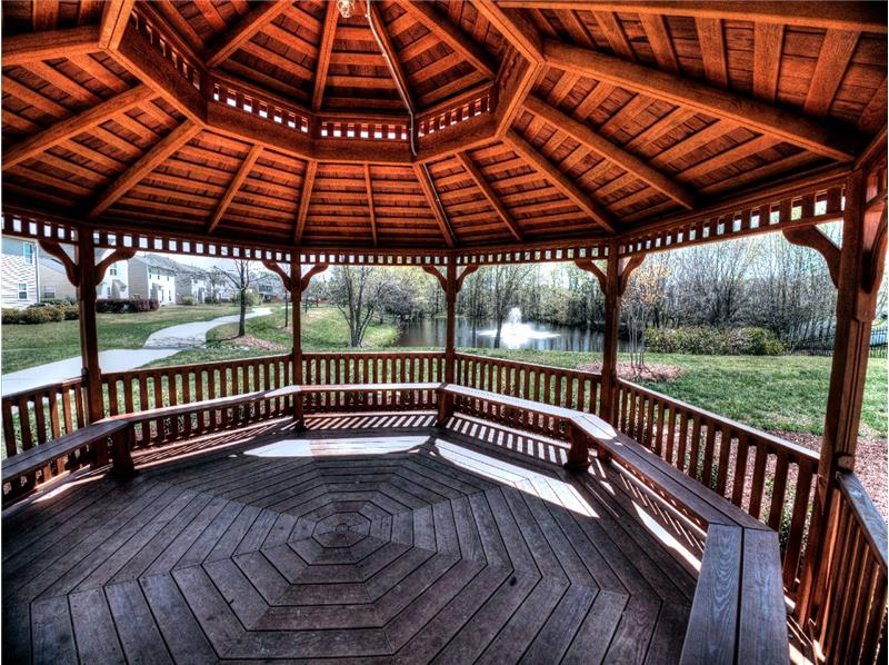 Autumn Park Gazebo - Homes for Sale in Holly Springs, Apex & Raleigh