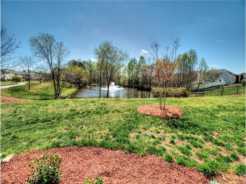 Autumn Park Pond - Homes for Sale in Holly Springs, Apex & Raleigh