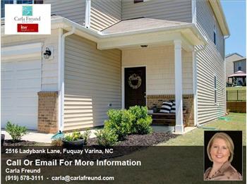 2516 Ladybank Lane, Fuquay Varina, NC