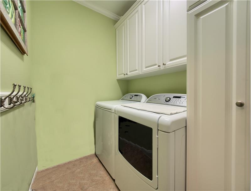 Laundry Room with Addl Cabinets