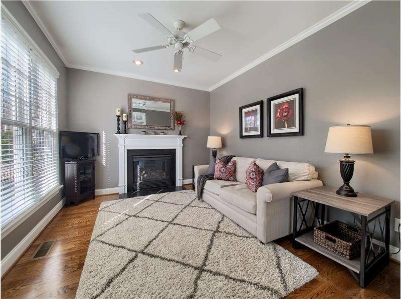 Keeping Room with Fireplace
