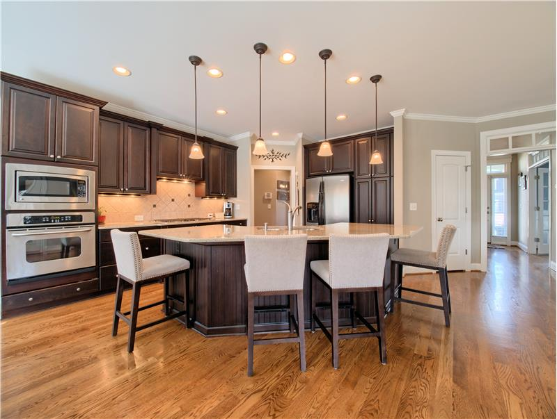 Spacious Kitchen with Updated Kitchen Cabinets