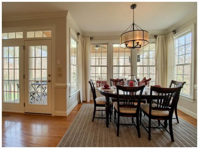 An abundance of Windows to add natural light