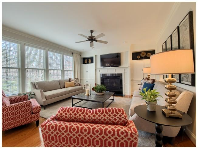 Family Room perfectly situated