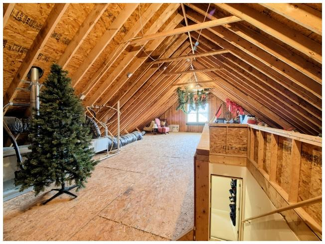 Amazing walk-up attic with window so could be finished
