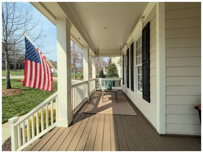 Large Front Porch for sitting or swinging!