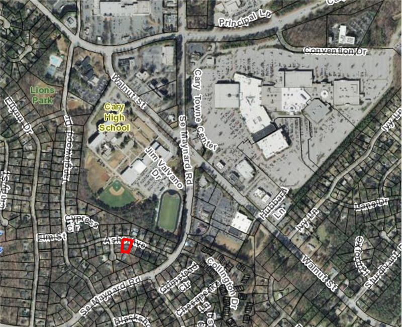 Walkable Community in Cary NC Homes for Sale