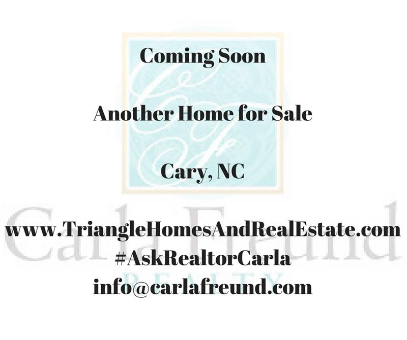 Coming Soon Homes Cary NC