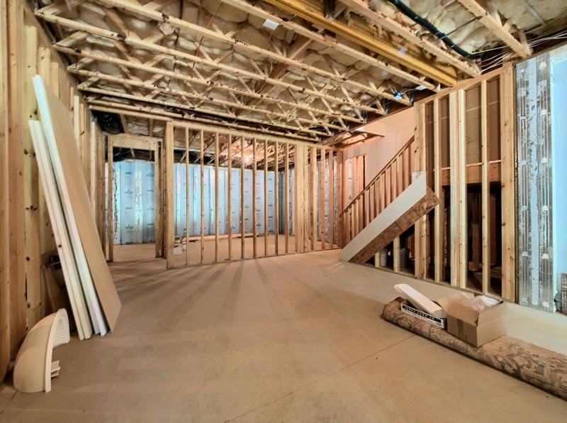 Basement Home in Wake Forest has potential of more rooms