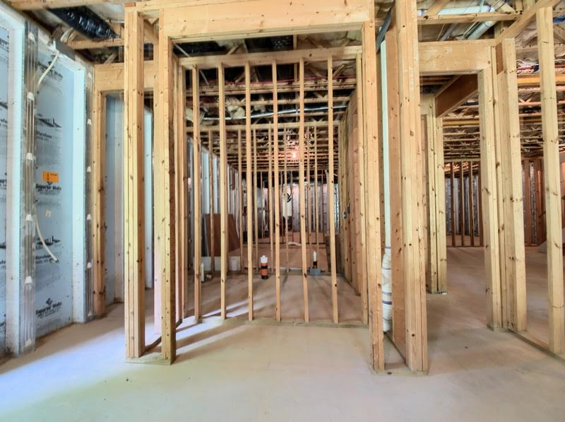 Basement Home in Wake Forest stubbed for bathroom and addl rooms