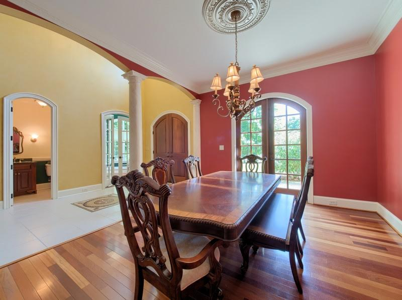 Dining Room is the Perfect Size for Entertaining