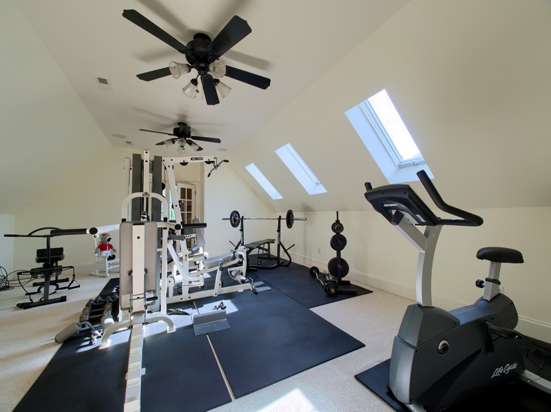 Home Gym - Apex Homes for Sale