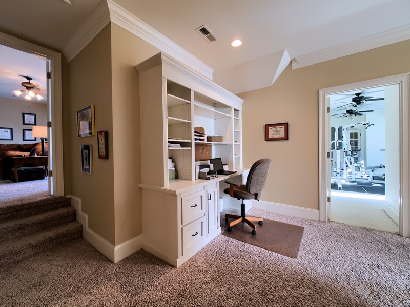 Upstairs Landing/Study Area - Apex Homes for Sale