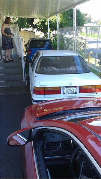 It's really a 2 car parking arrangement...