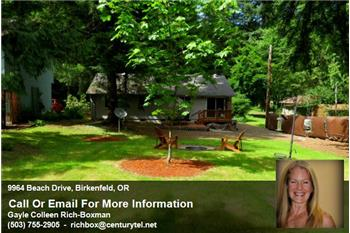 Expansive backyard with firepit and patio and more!