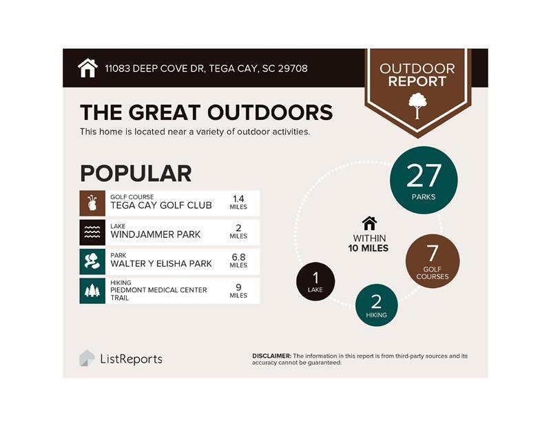 Outdoor activities galore!