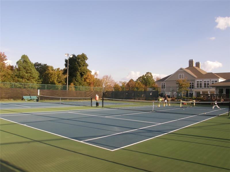 Tega Cay tennis courts