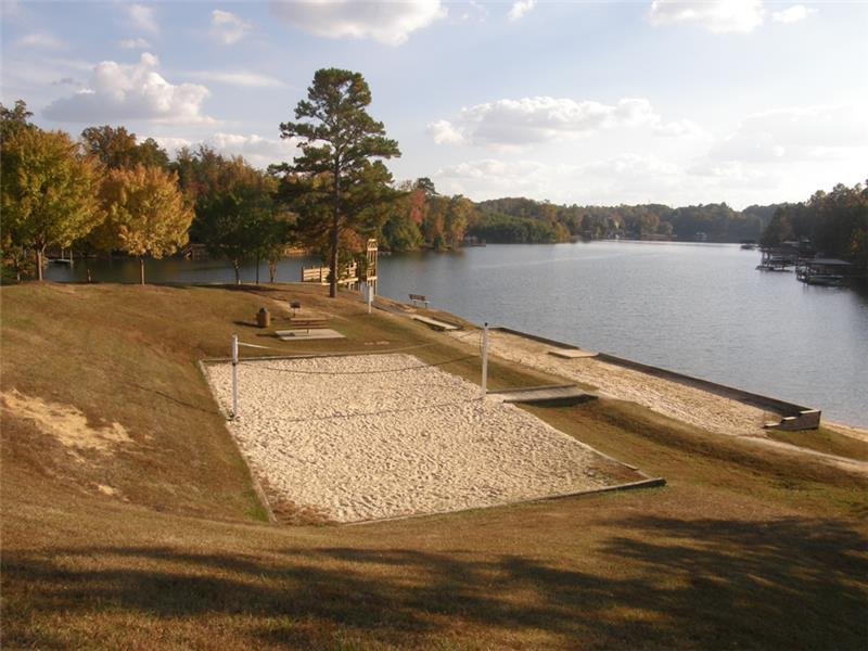 Tega Cay volleyball court
