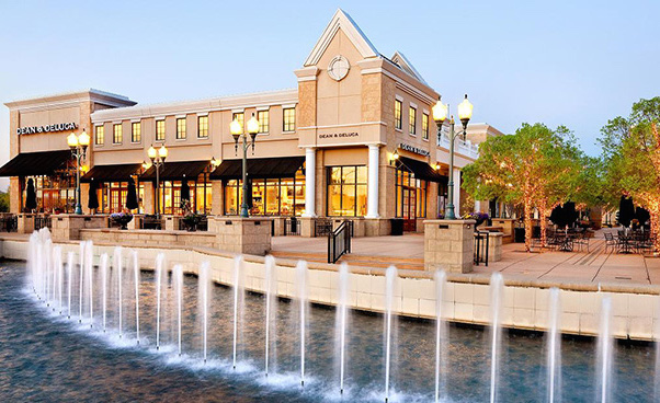 A plethora of shopping options are nearby: Stonecrest, Blakeney, Carolina Place Mall, and more