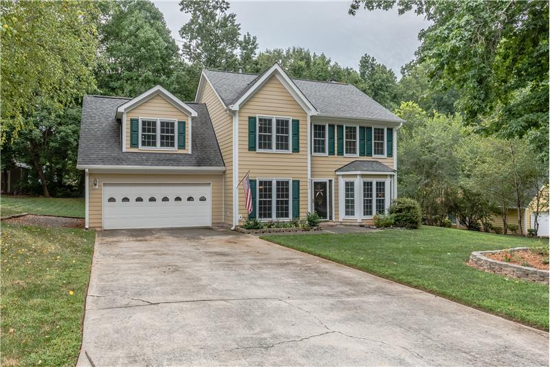 Welcome home to 6611 Barry Whitaker Place in Danbrooke Park in Mint Hill, NC.