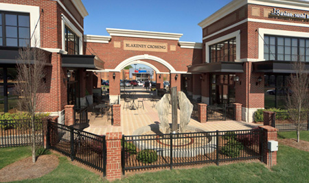 More shopping and dining options at Blakeney Crossing just minutes away