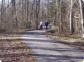 McAlpine Greenway is closeby if you love to hike