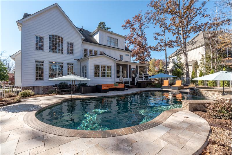 Wonderful space for relaxing and entertaining. Use the heated pool year-round.