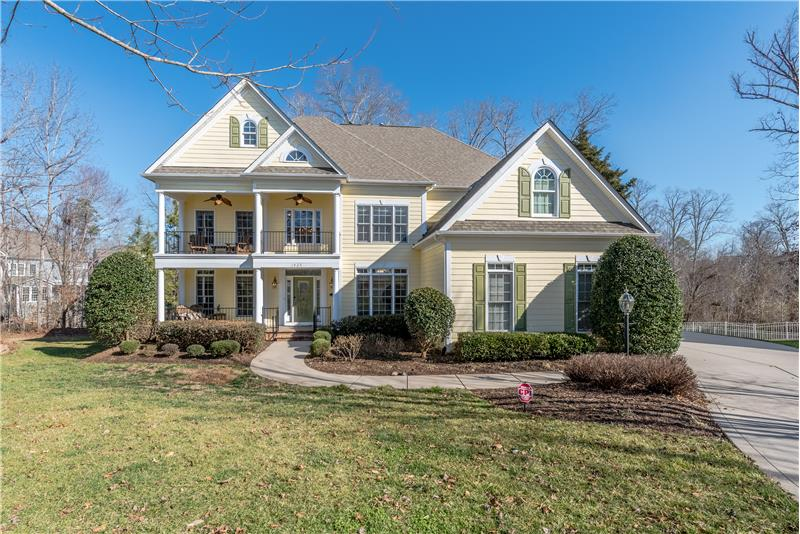 A perfect lend of curb appeal, elegance, and function! WELCOME HOME!