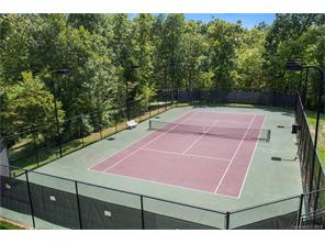 Lawson community tennis court.