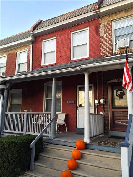947 Sargent Avenue front porch