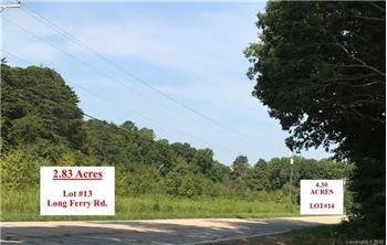 Lot #13 Long Ferry Rd., Salisbury, NC