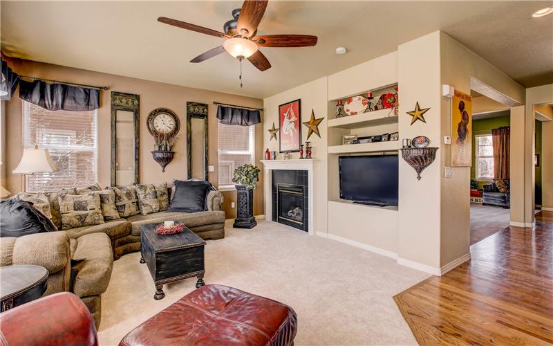 7127 Quiet Pond Family Room with Fireplace