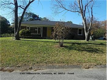 1301 Hillwood Drive, Gastonia, NC