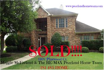 1407 Pinewood Court, Pearland, TX